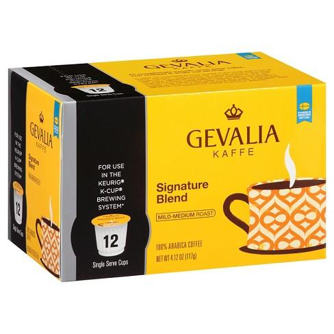 Gevalia Signature Blend Medium Roast - Keurig K-Cups - 12ct - image 1 of 1