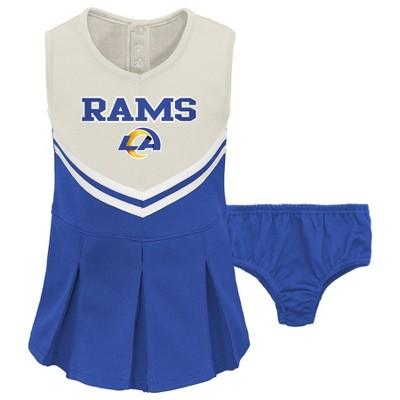 NFL Los Angeles Rams Toddler Girls' Cheer Set