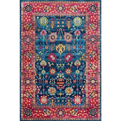 nuLOOM Classic Tinted Floral Area Rug