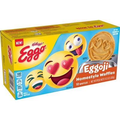 Eggo Eggoji Emoji Frozen Waffles - 10ct