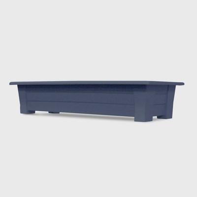 36'' Rectangular Deck Planter Bluestone - Adams Manufacturing
