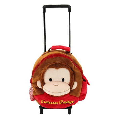 Animal Adventure Curious George Trolley Backpack - image 1 of 7