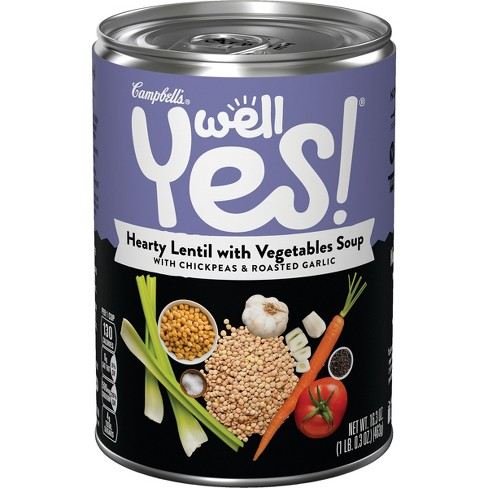 Campbell's® Well Yes!™ Hearty Lentil Soup 16.3 oz - image 1 of 5