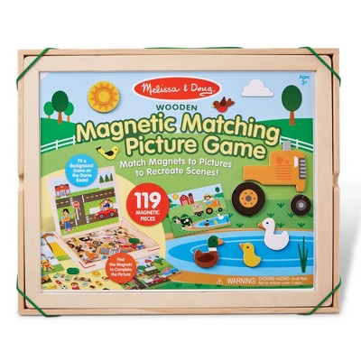 Melissa & Doug Magnetic Matching Picture Game 119pc