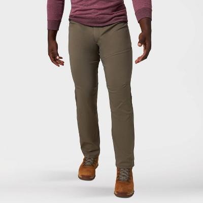 Wrangler Men's ATG Synthetic Straight Fit Slim Side Zip 5-Pocket Pants