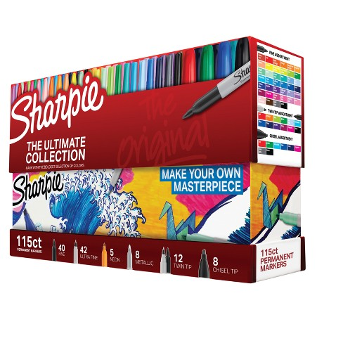 sharpie ultimate collection 115pc
