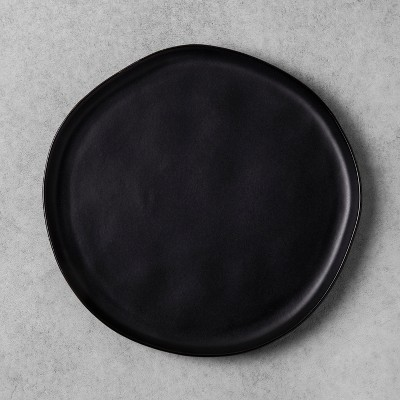 Stoneware Dinner Plate - Black - Hearth & Hand™ with Magnolia