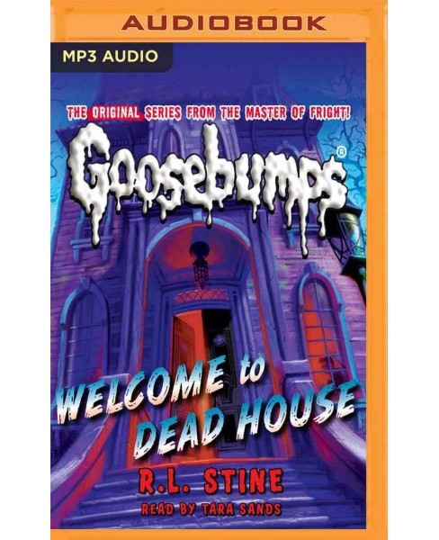 Welcome to Dead House (MP3-CD) (R. L. Stine) - image 1 of 1