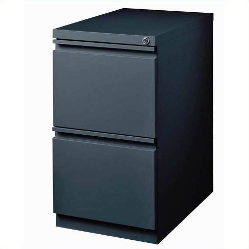 Steel 2 Drawer Mobile File Cabinet in Charcoal Gray-Hirsh Industries - image 1 of 1