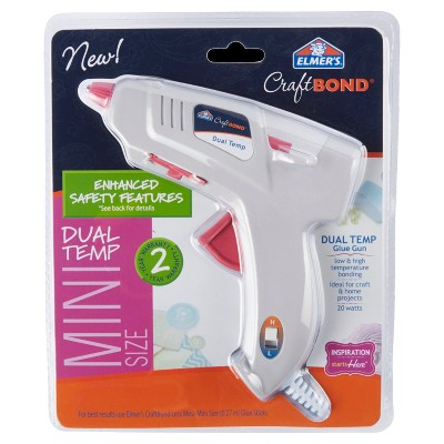 Elmer's Craft Bond Mini Glue Gun Dual-Temp