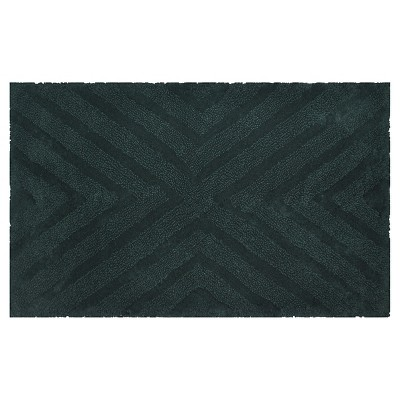 Textured Pattern Bath Rug Mountain Spruce (20  x 34 )- Project 62™ + Nate Berkus™