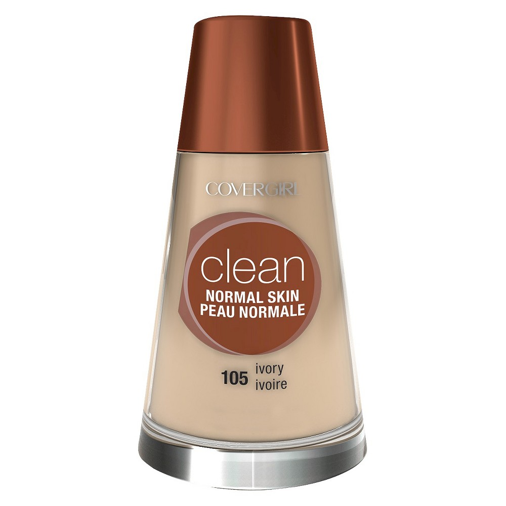 Image of COVERGIRL Clean Foundation 105 Ivory 1 fl oz