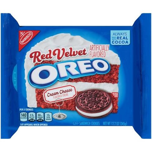 Oreo Red Velvet Sandwich Cookies - 12.2oz - image 1 of 4