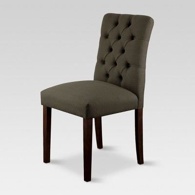 Brookline Tufted Dining Chair - Charcoal (1 Pack)- Threshold™
