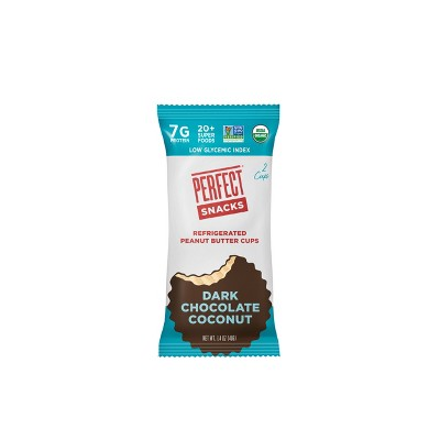 Perfect Snacks Dark Chocolate Coconut Peanut Butter Cups - 2ct/1.4oz