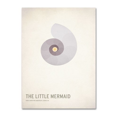'The Little Mermaid' by Christian Jackson Ready to Hang Canvas Wall Art - image 1 of 3