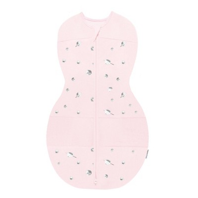 Happiest Baby Sleepea Sack Swaddle Wrap - Pink with Planets - S