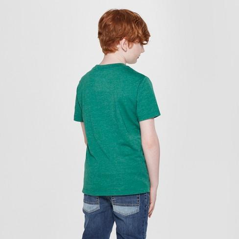 4b9ae89b Boys' Harry Potter Slytherin Short Sleeve Graphic T-Shirt - Green ...