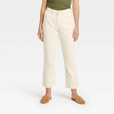 Women's High-Rise Slim Fit Stretch Bootcut Jeans - A New Day™