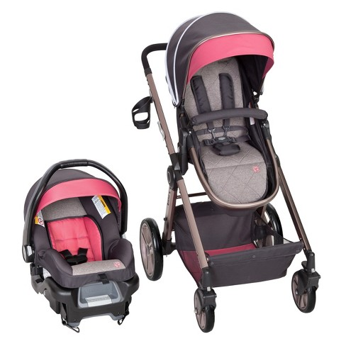 Baby Trend Go Lite Snap Gear Sprout Travel System Stardust Rose
