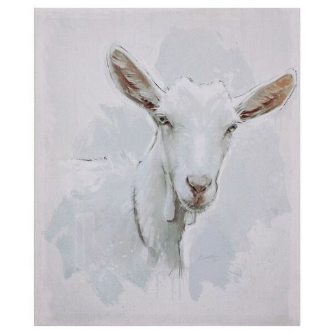Goat Canvas Wall Décor - 3R Studios - image 1 of 1