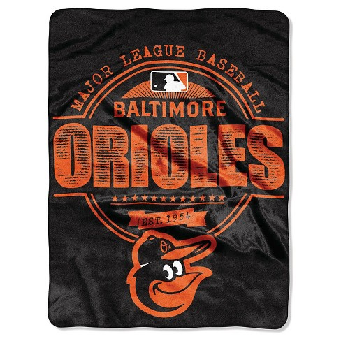 "MLB Baltimore Orioles Throw Blanket - 46""x60"" - image 1 of 1"