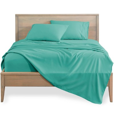 Bare Home Solid Microfiber Sheet Set