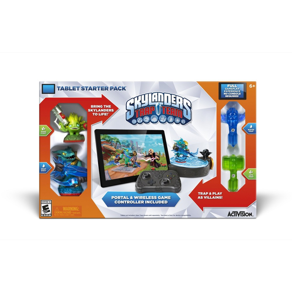 Skylanders Trap Team Starter PackiPad