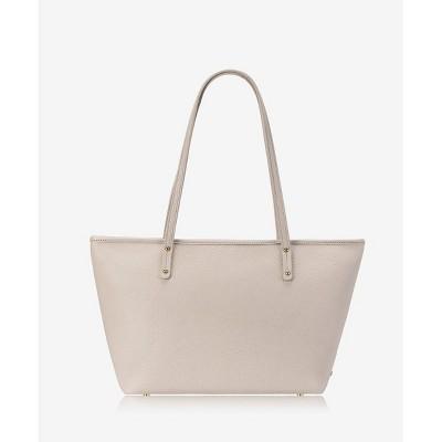 GiGi New York Off-White Zip Taylor Tote Bag