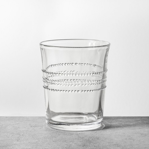 8oz Glass Cup Clear - Hearth & Hand™ with Magnolia - image 1 of 3