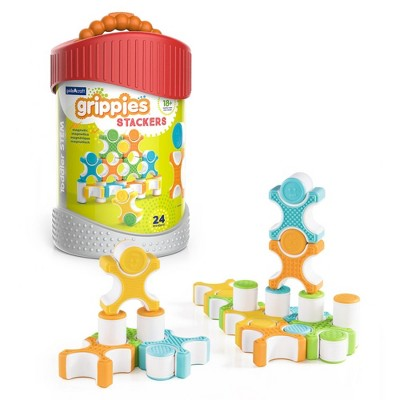 Guidecraft Grippies Stackers  - 24 Pieces