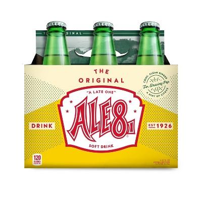 Ale-8-One Heritage Ginger Ale - 6pk/12 fl oz Glass Bottles