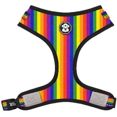 Fresh Pawz Pride Flag Adjustable Mesh Dog Harness