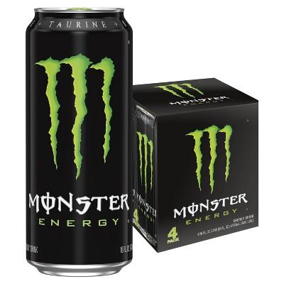 Monster Energy, Original - 4pk/16 fl oz Cans
