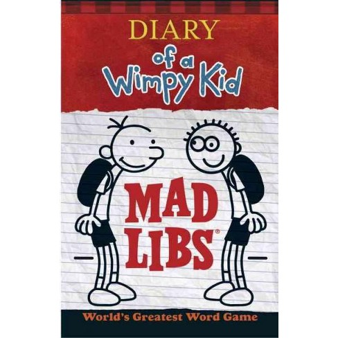 Diary of a Wimpy Kid Mad Libs - (Paperback) - image 1 of 1