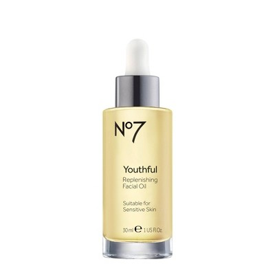 No7 Youthful Replenishing Facial Oil - 1oz