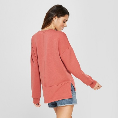 9593e76602f Women s Long Sleeve Tunic Sweatshirt - Universal Thread™   Target