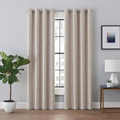 Renwick Blackout Curtain Panel - Brookstone