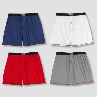 Hanes Men's 1901 Americana Heritage Boxer Shorts 4pk - L