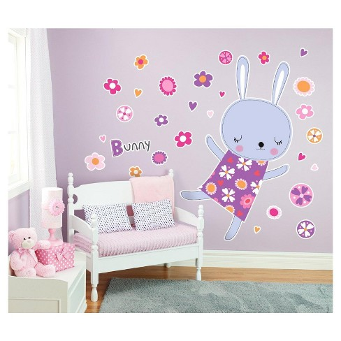 Rabbit Giant Wall Decal - image 1 of 1
