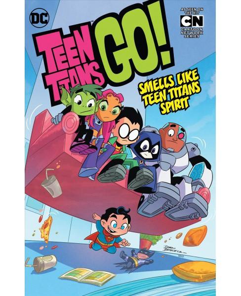 Teen Titans Go! 4 (Paperback) (Paul Morrissey & Heather Nuhfer) - image 1 of 1