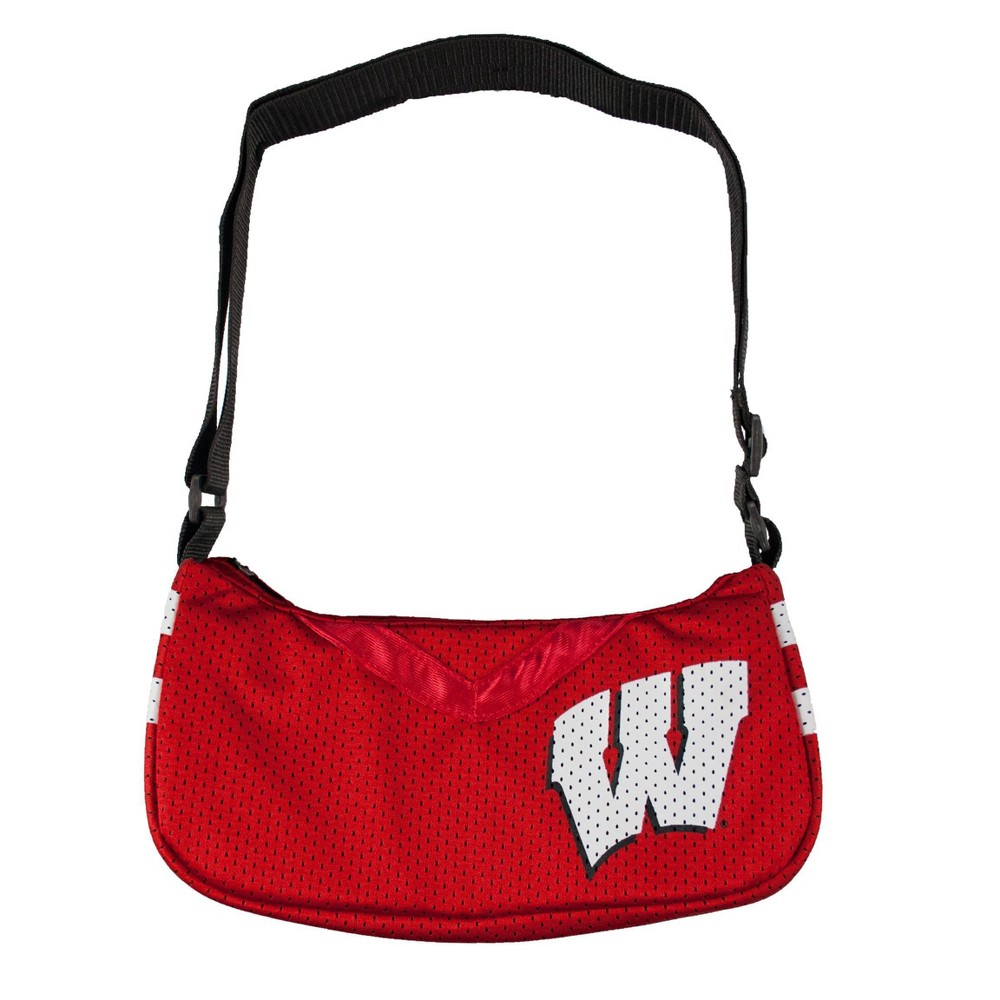 NCAA Wisconsin Badgers Little Earth Team Jersey Purse, Adult Unisex