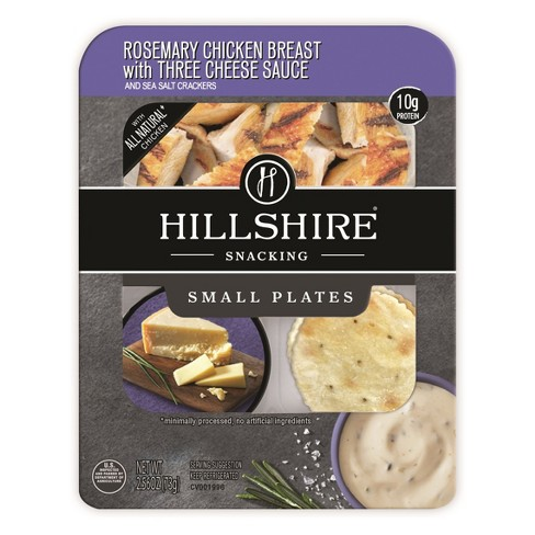Hillshire Snacking Rosemary Chicken Breast with Three Cheese Sauce - 2.56oz - image 1 of 3