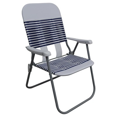 Jelly Folding Beach Chair - Blue/White - Room Essentials™