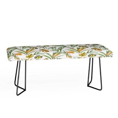Marta Barragan Camarasa Sweet Tropical Botany Bench - Deny Designs
