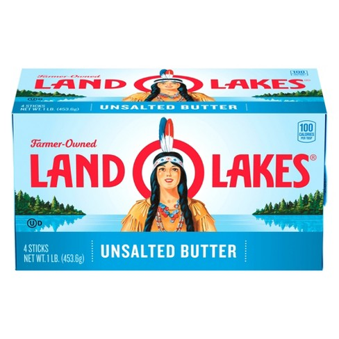 Land O Lakes Unsalted Butter - 1lb - image 1 of 3