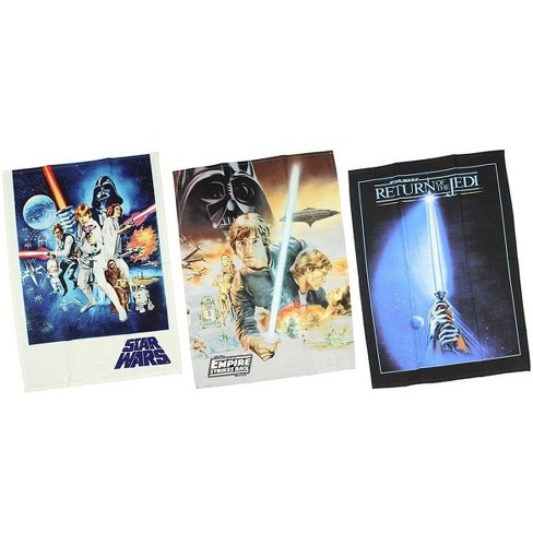 Robe Factory LLC Star Wars 3-Piece Trilogy Posters Kitchen Towel Set - image 1 of 1