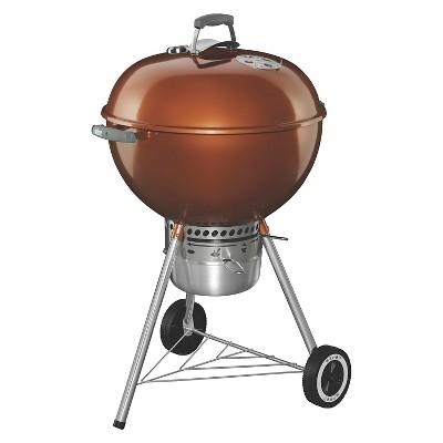 Weber Original Kettle Premium 22  Charcoal Grill - Copper - Model 1.4402001E7
