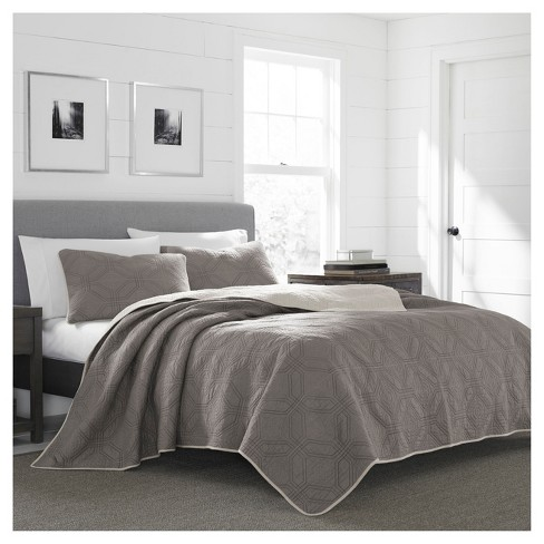Gray Axis Quilt Set - Eddie Bauer® - image 1 of 1