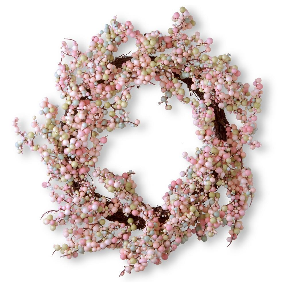 Wreath - Light Pink (15.75)